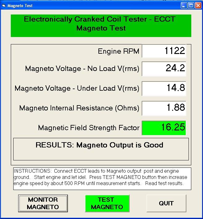 ECCT Magneto Test GUI