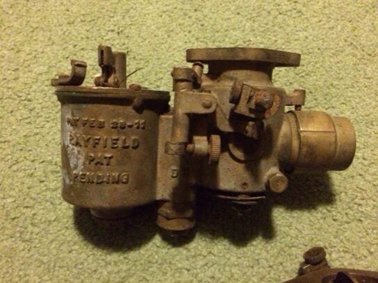 Model T Ford Forum: Rayfield carburators?