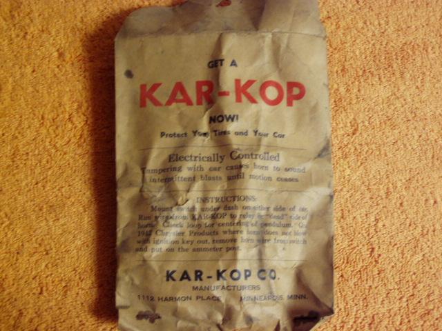 original bag with instructions