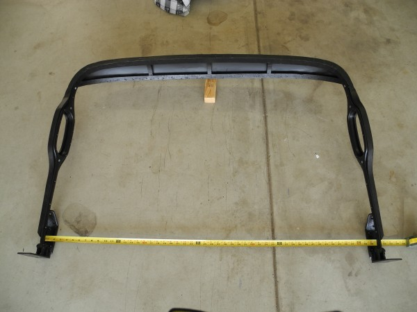 Assembled Rear Top Bow