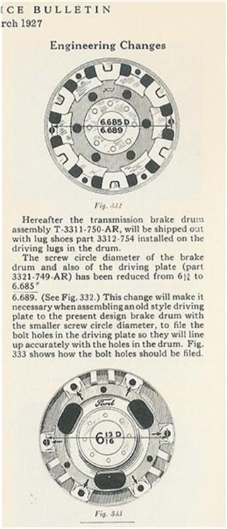 Drive plate change