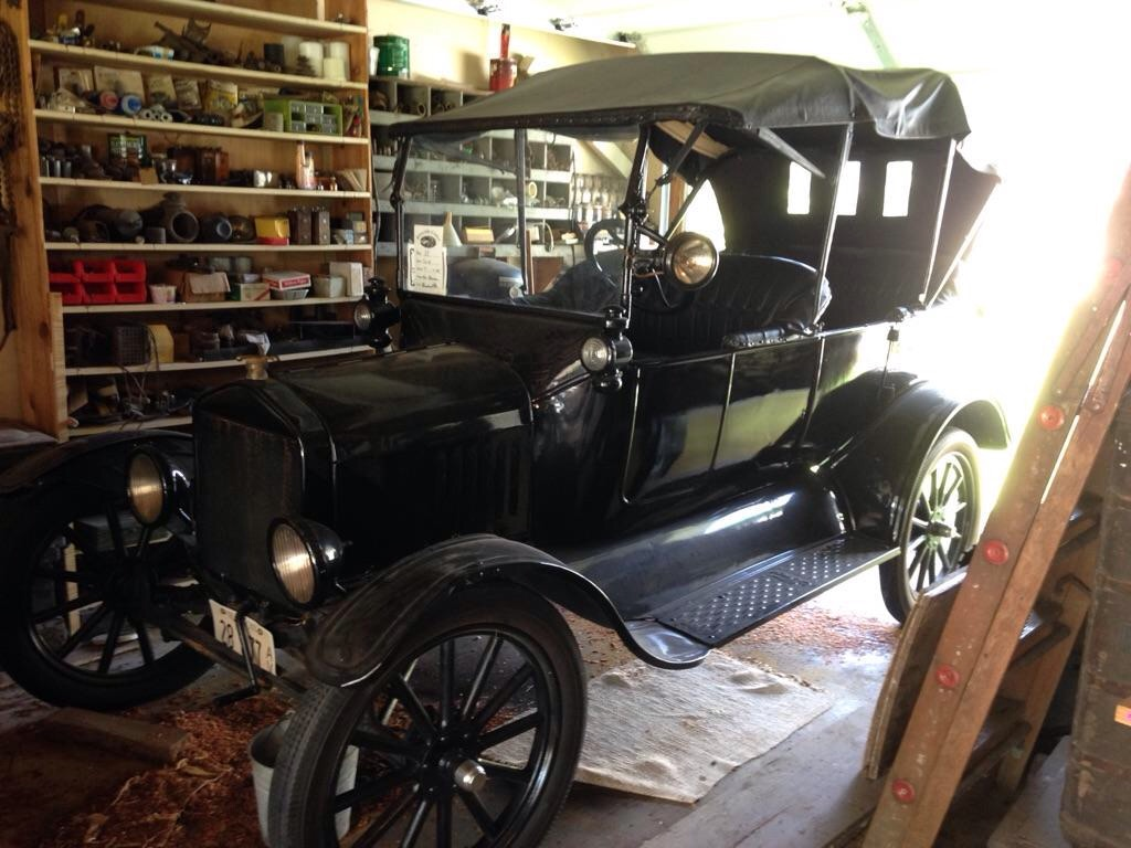 Model T Ford Forum: How much is my 1919 Model T Touring worth