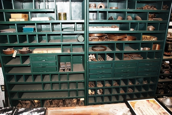 FORD PARTS BINS