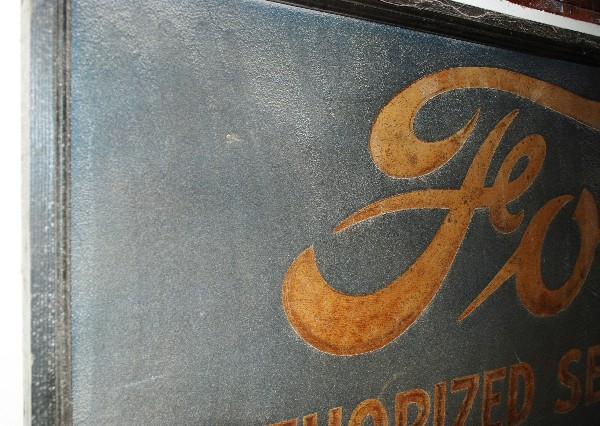 EARLY FORD DEALER SIGN-2