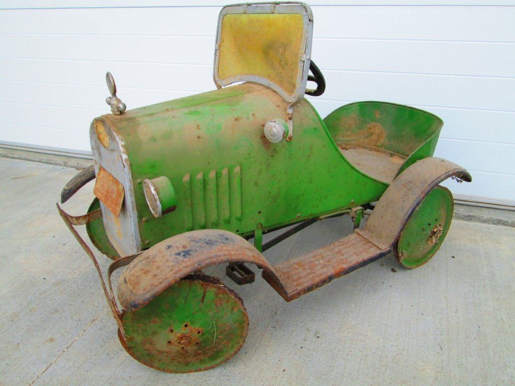 Model T Ford Forum: Value of old Model T Pedal Car