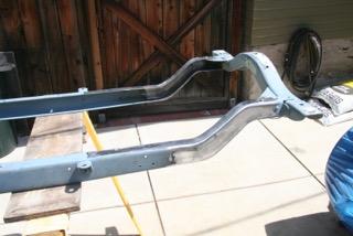 Z'd frame is ready for POR-15.