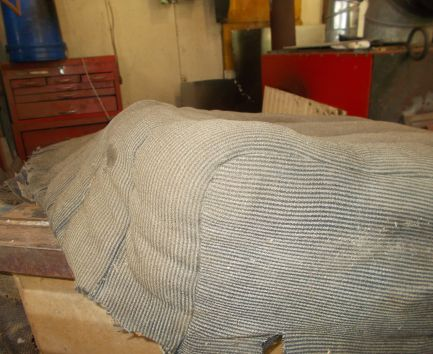 seat upholstery