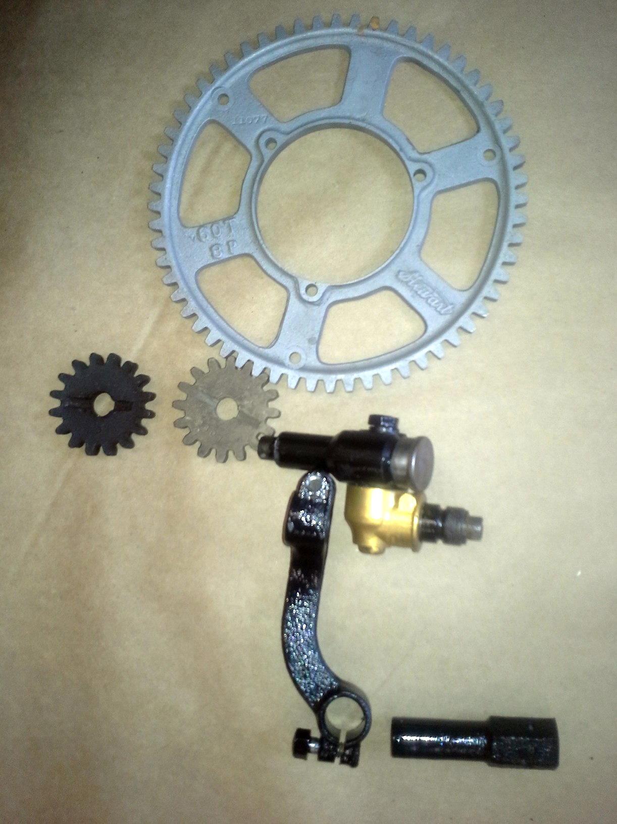Speedometer Wheel Hardware