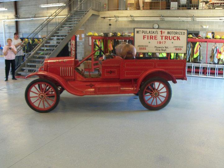 1917 Fire Engine