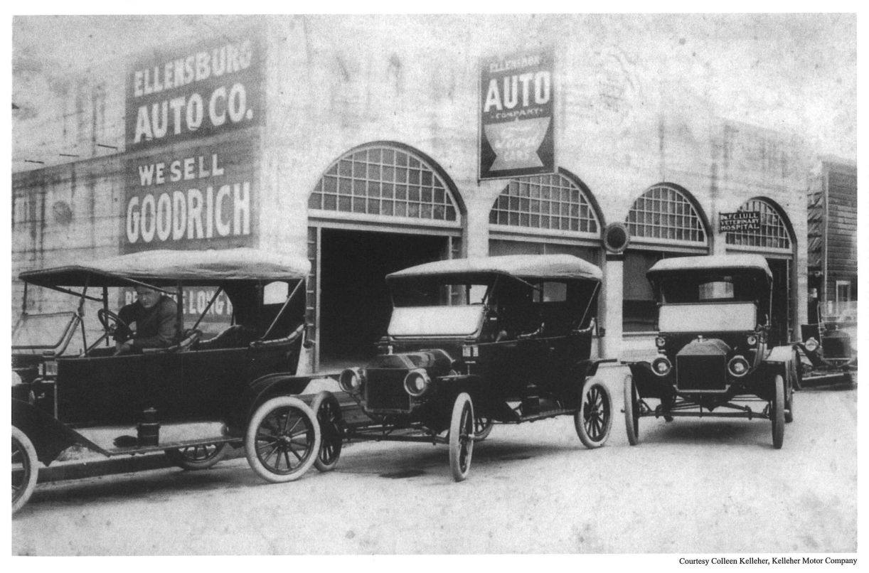 Model T Ford Forum: Old Photo - Ellensburg Auto Co. Ford Cars ...