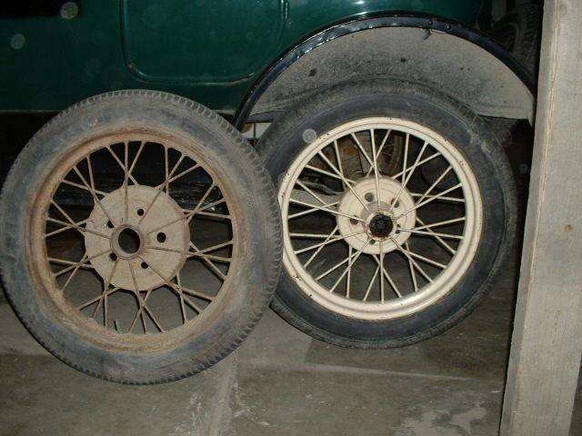 1926 ford model t wheels
