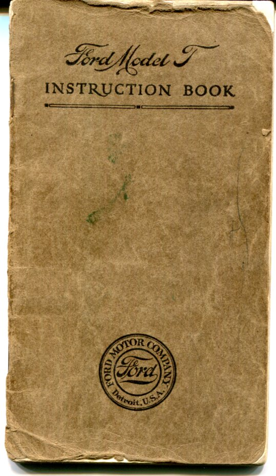 March, 1912 T Manual