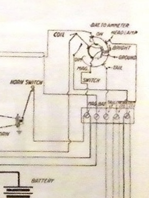 model t ford forum wireing is back on questions on odd ball switch rh mtfca com Model T Magneto Wiring Model T Engine Diagram