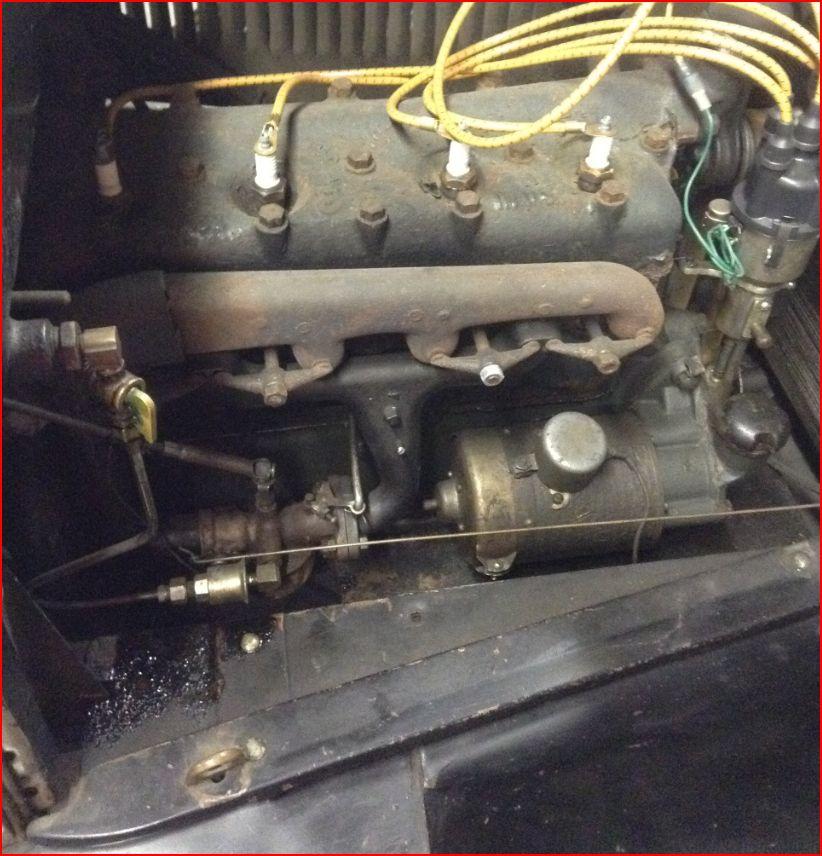 Engine varnish