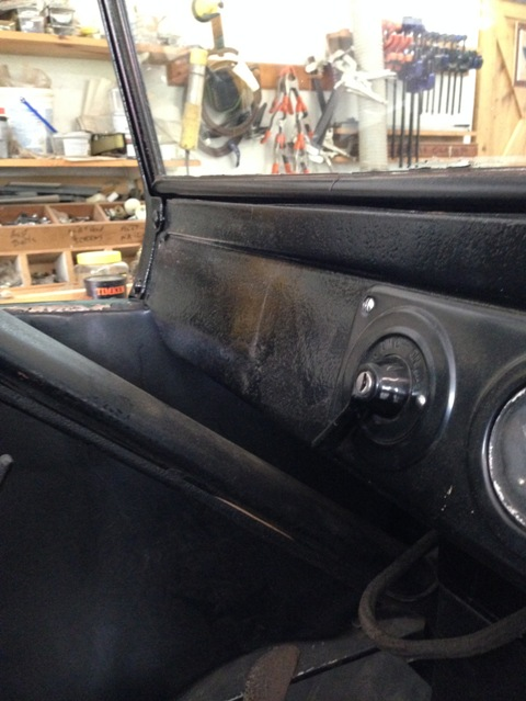 dash to steering column