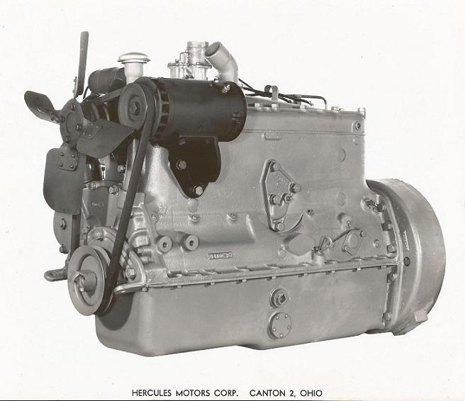 61 4 Cylinder Hercules Gas Engine Dd198 Hercules