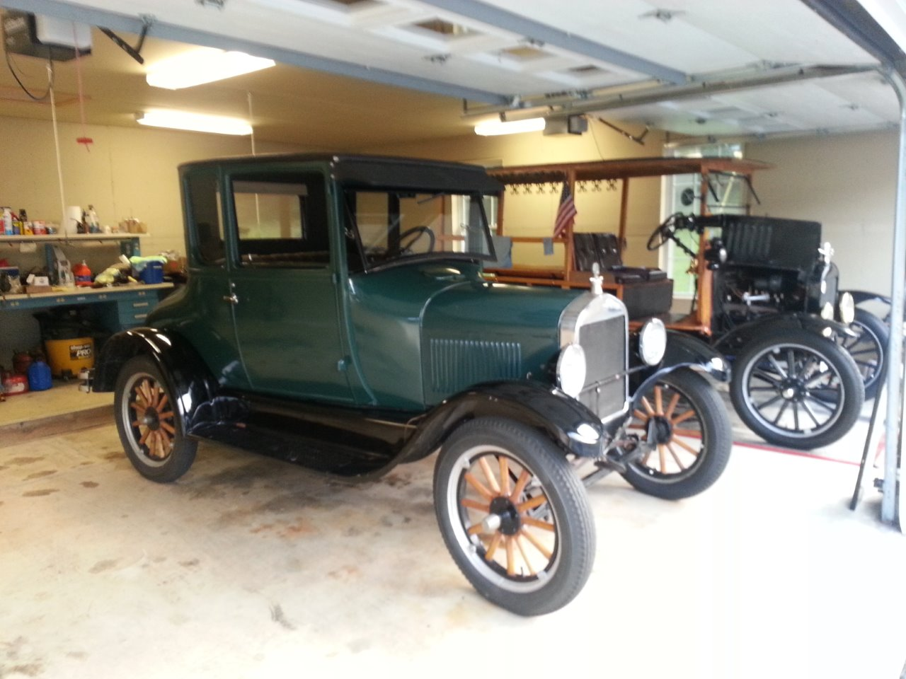 Seabiscuit my 1926 Model T Coupe