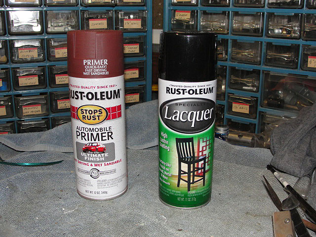 Beautiful Thinning Rustoleum Paint For Spraying Part - 11: This Is The Blackest Black I Could Find In The Rustoleum Line And Even  Smells A Bit Like Lacquer.