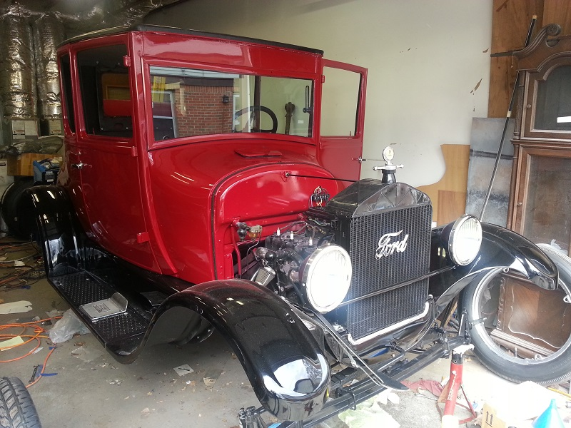 1926 Coupe Front