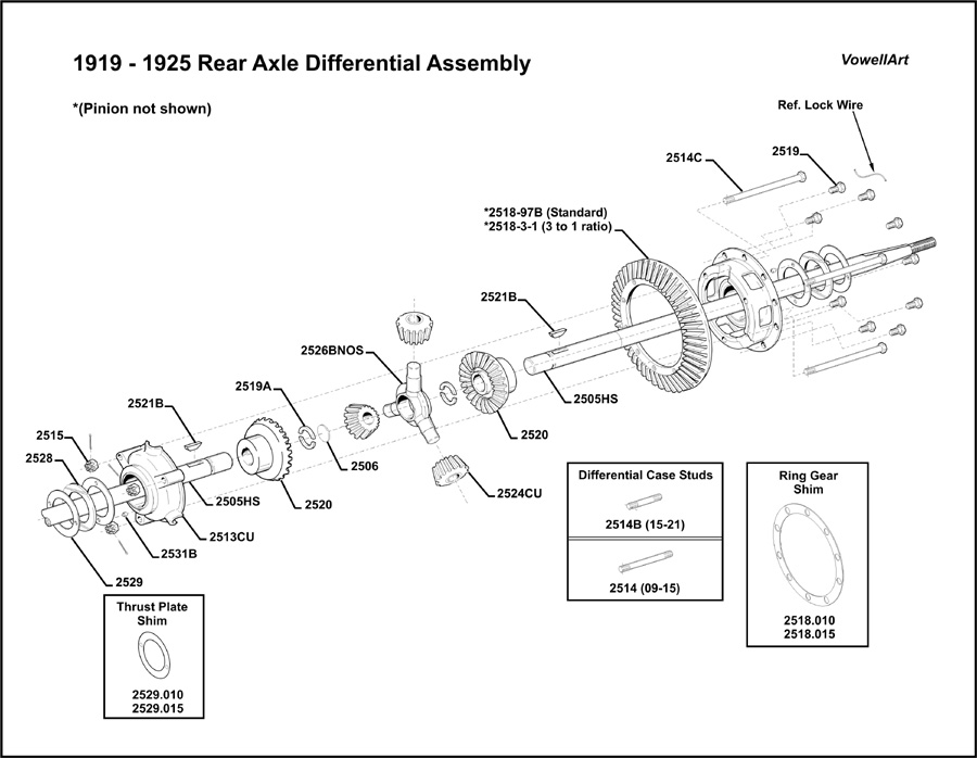 model t ford forum **1919 1925 rear axle assembly** range rover axle schematic axle schematic #14