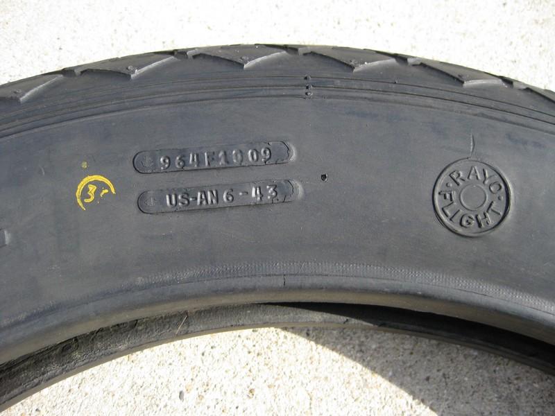 Goodyear airplane tire bead