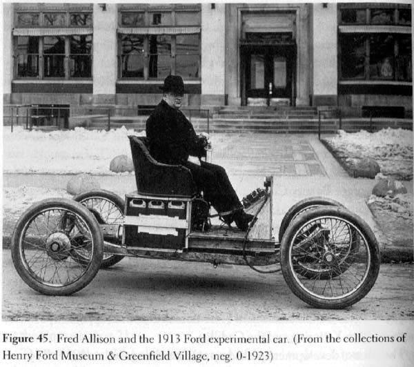 Here are two of Fordu0027s experimental electric cars. & Model T Ford Forum: Ford/Edison electric car?? markmcfarlin.com