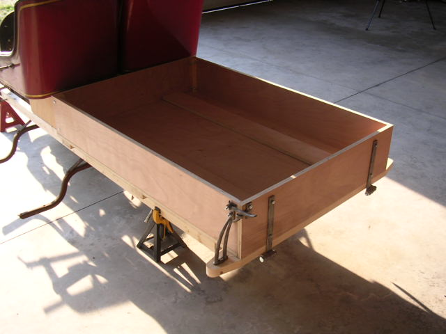 Model T Ford Forum Wood Pick Up Box Plans