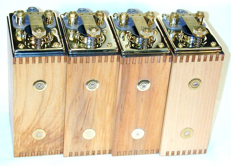 Brass top coils