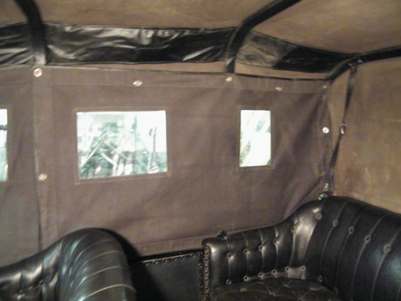 Model T Ford Forum 1915 Side Curtains