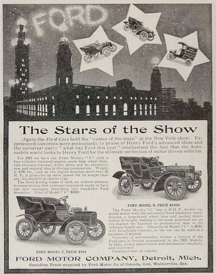 1905 Ford ad