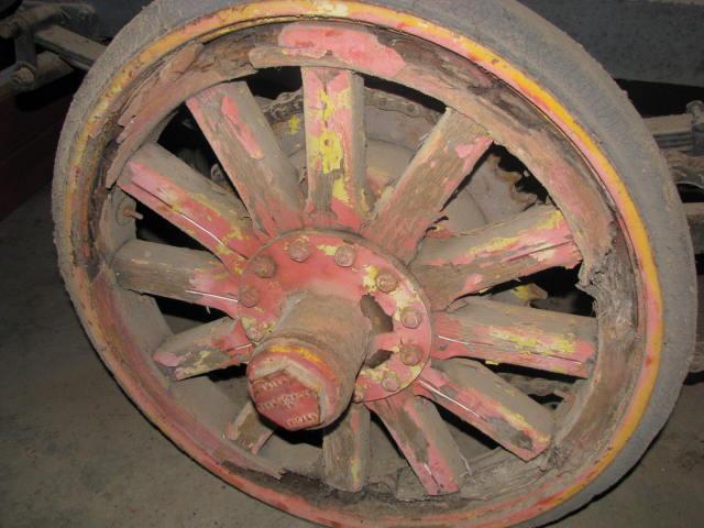 Smith Form a truck wheel