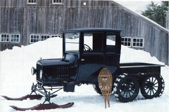 Coupe Snowmobile