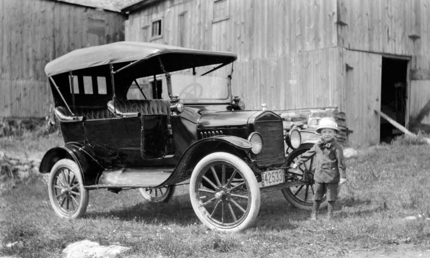 Old Movie Of Antique Car
