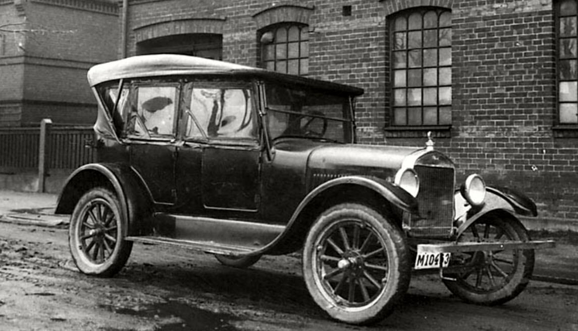 Hereu0027s A Danish Built 1926 Touring In Trelleborg, Sweden In 1927:
