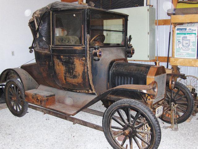 1916 Ford model T Coupelet
