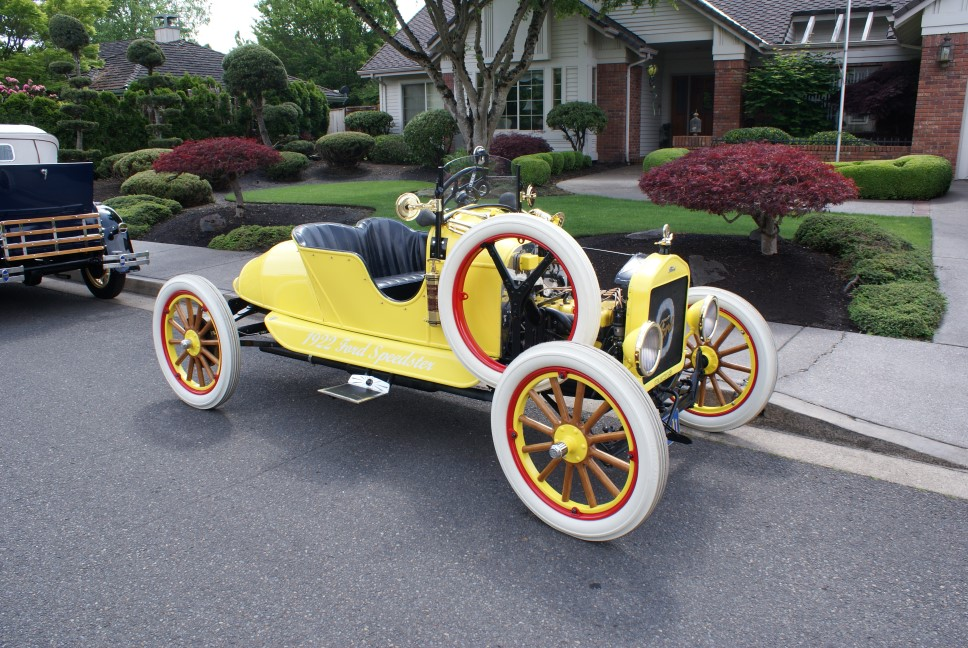 "1922 Speedster ""armadillo"" restored this in 2008"