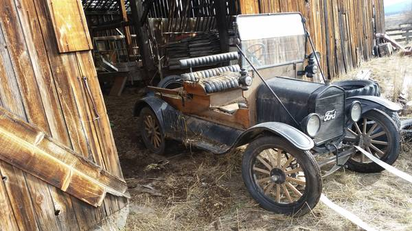 1923 Ford Model T wooden pickup or ??