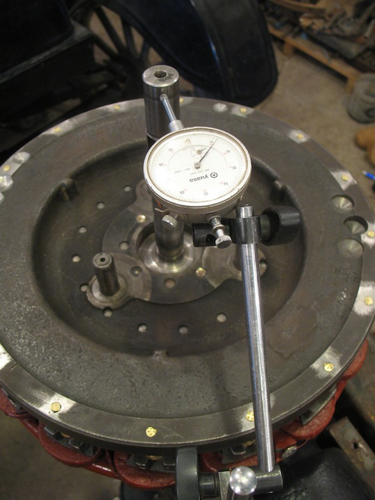 Model T Ford Forum: Transmission shaft: Too much runout  What to do?