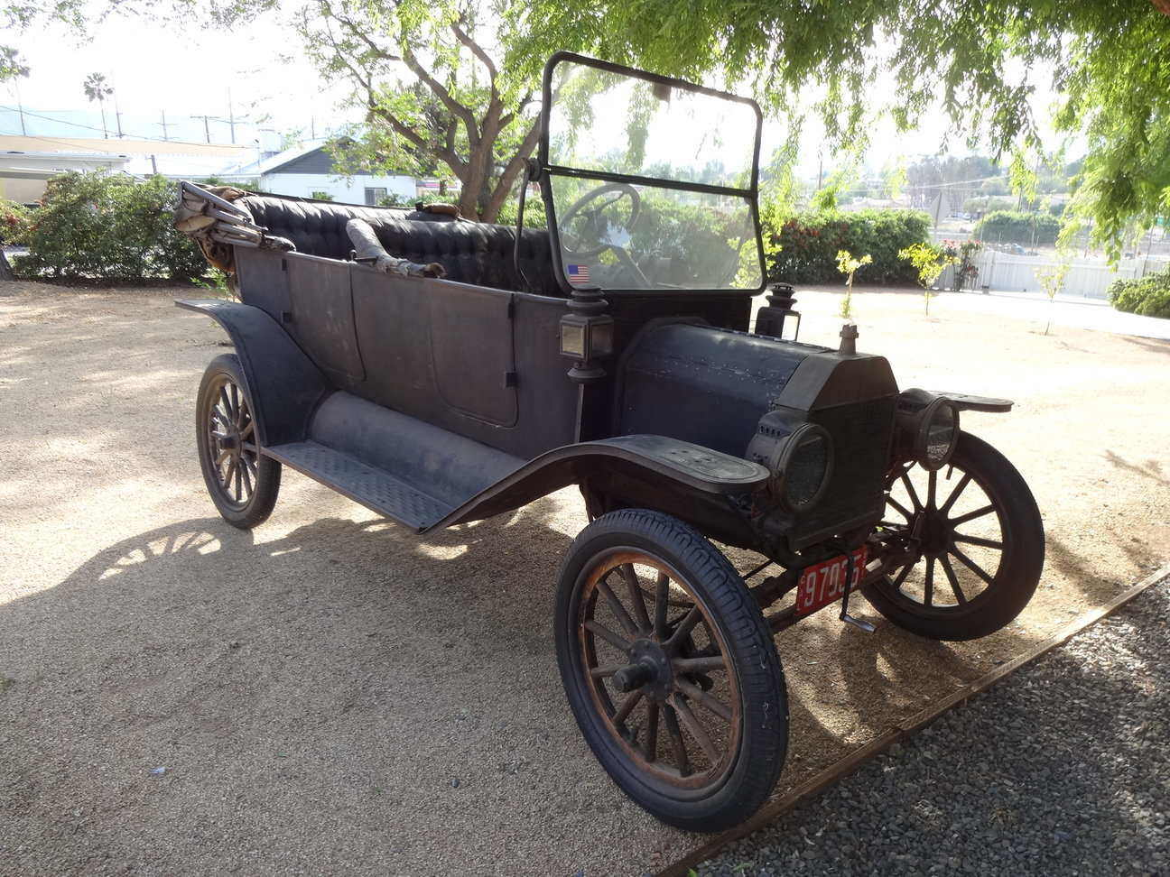 8c2bfb3d613 Model T Ford Forum: Early 1914 Touring Barn Find