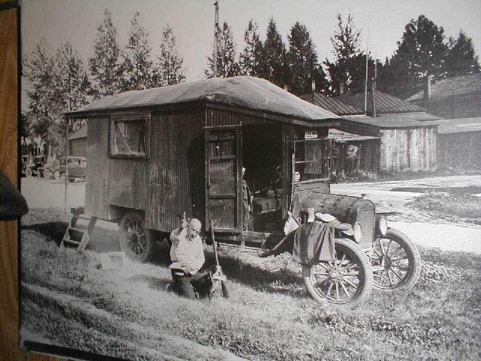 Model T Camper