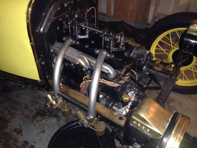 Model T Ford Forum: Dual Carbs on 4 valve Rajo