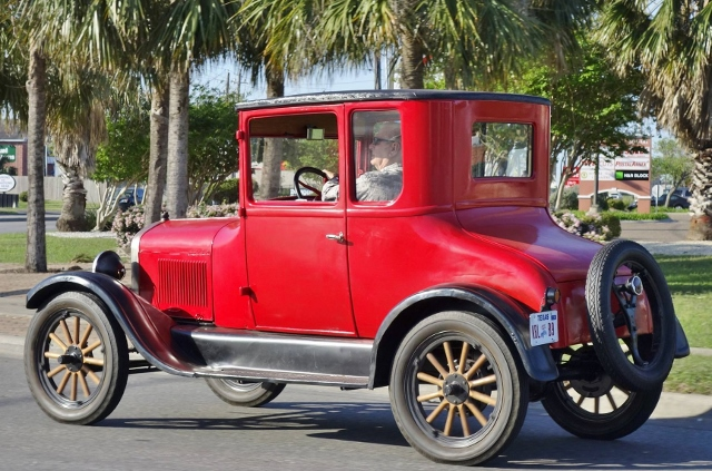 My 1926 Coupe was pictured on a Corpus Christi Facebook page.