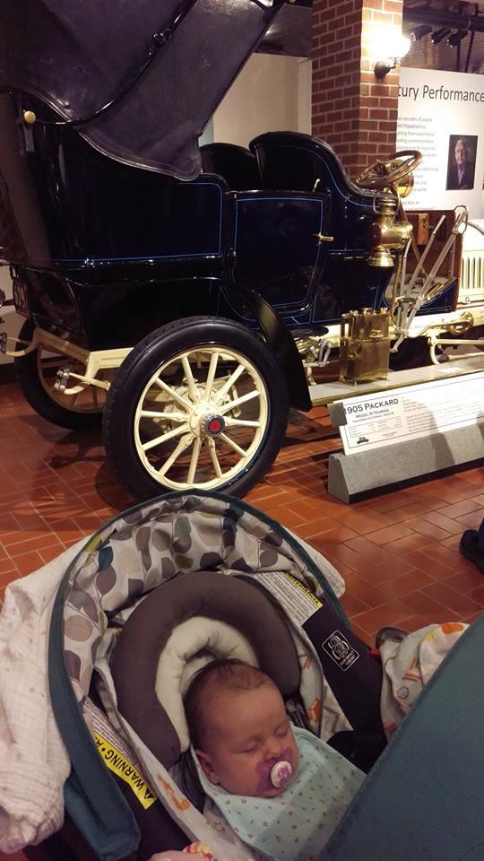 Abigail's first Packard