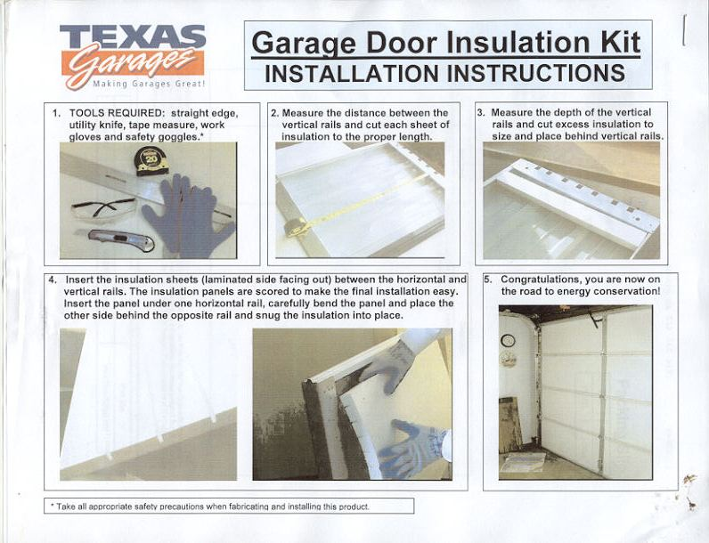 Model T Ford Forum Ot How To Insulate A Roll Up Door