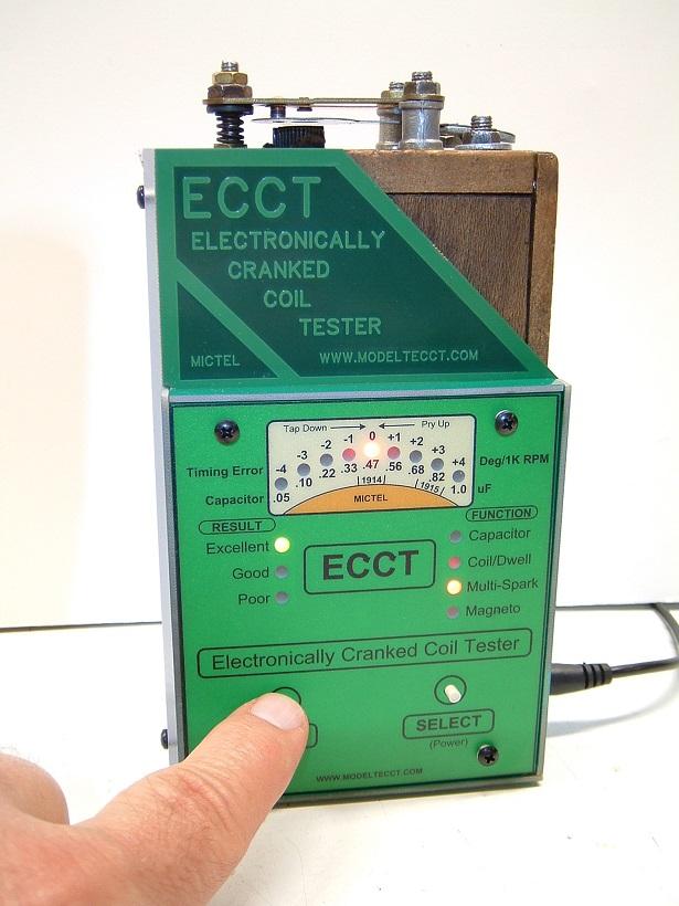 ECCT operates using 1 finger power