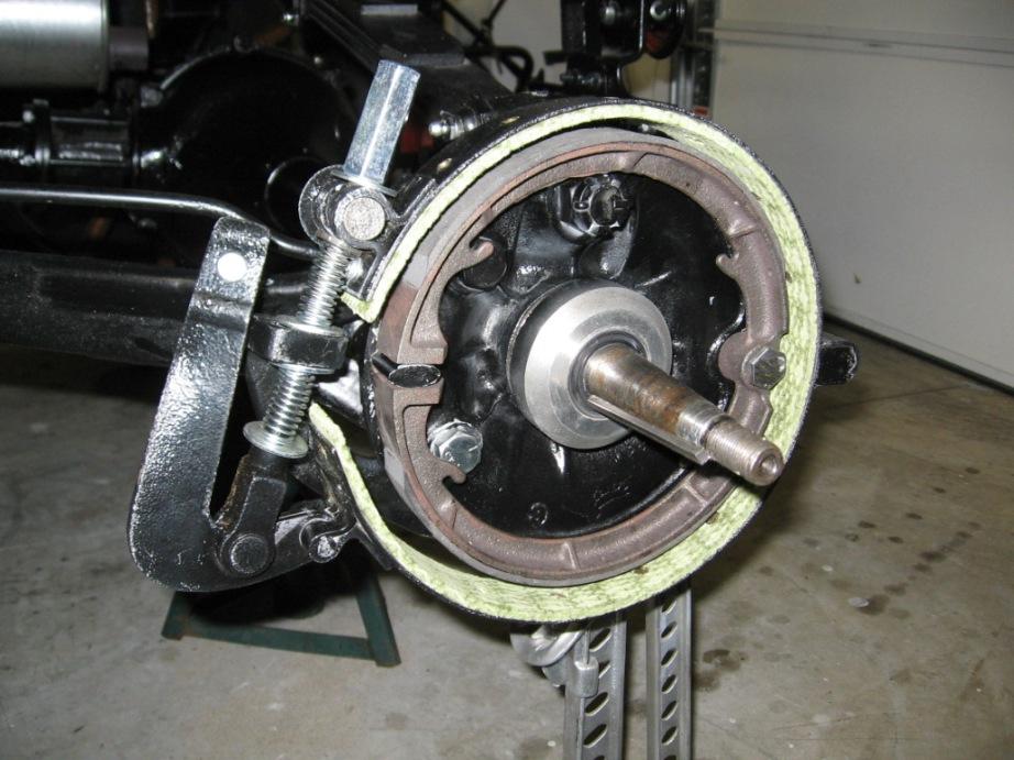 Model T Brake Rivet Tool : Model t ford forum installing new brake cams