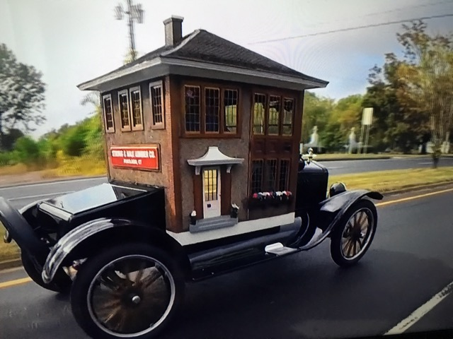 Model t ford house car