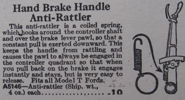 hand brake spring