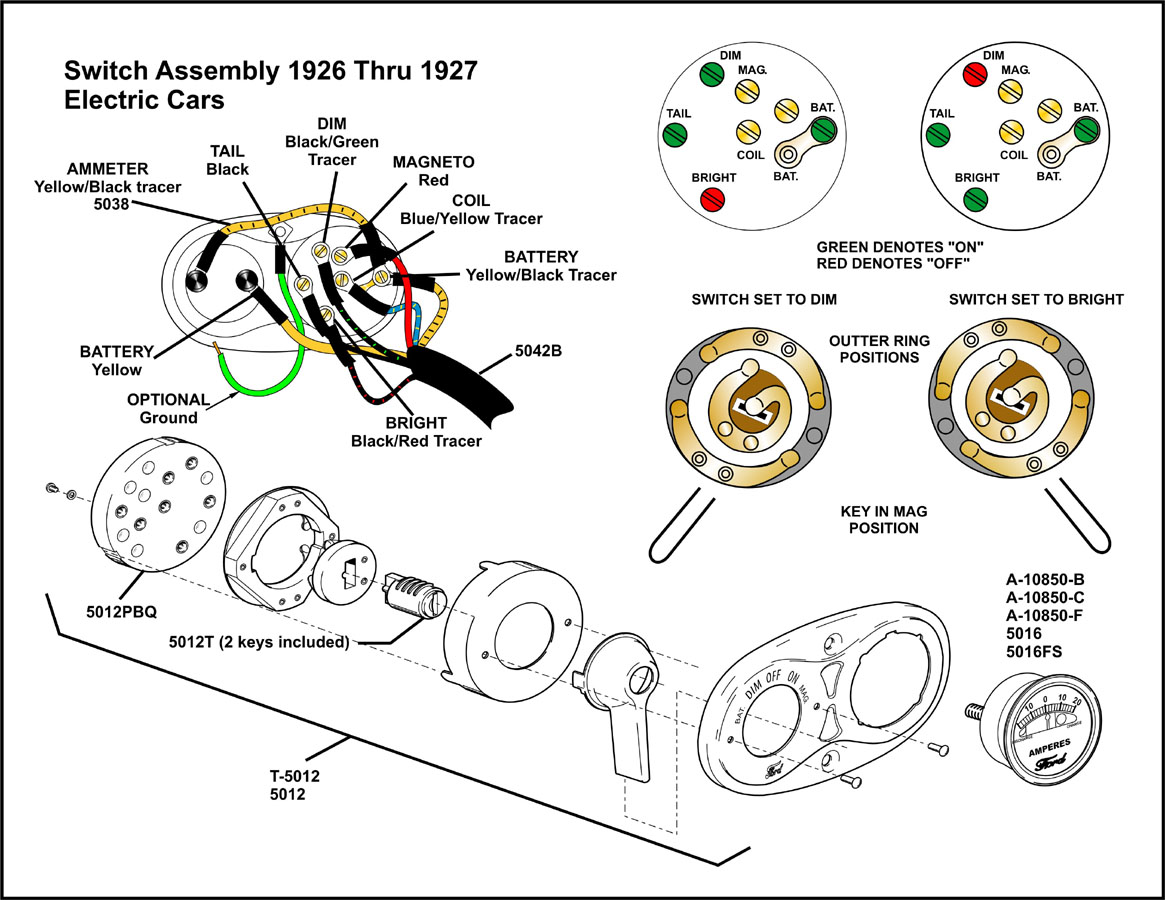 model t ignition diagram model t magneto wiring model t ford forum: need schmatic of ignition switch #15
