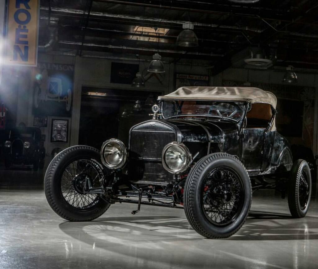Model T Ford Forum: Clayton Paddison At Jay Leno's Garage